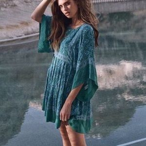 Dresses & Skirts - Jewel Tunic DRESS Emerald Green Kimono Sleeve NEW